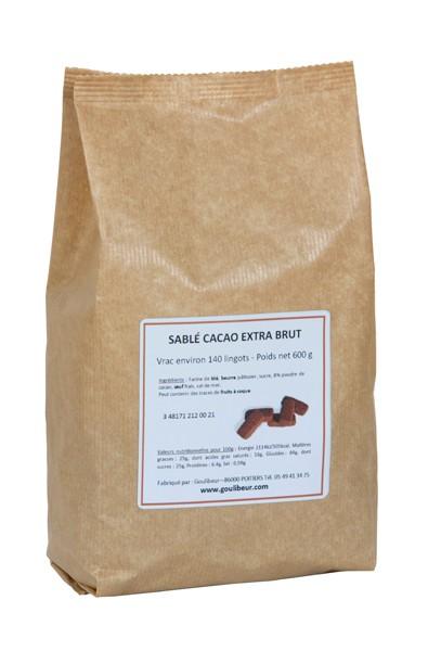 Sablés en vrac - Cacao extra brût