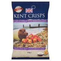 Kent Crisps Sea Salt & Vinegar with Biddenden Cider