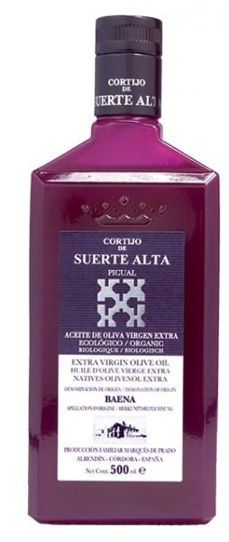 Picual en Envero Aceite de Oliva virgen extra ecologicó