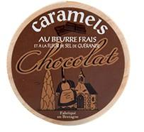 Caramels au beurre frais et à la fleur de sel de Guérande - Chocolat