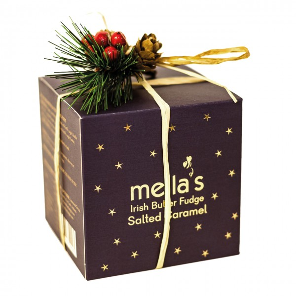 Christmas Mella's Irish Butter Fudge Salted Caramel