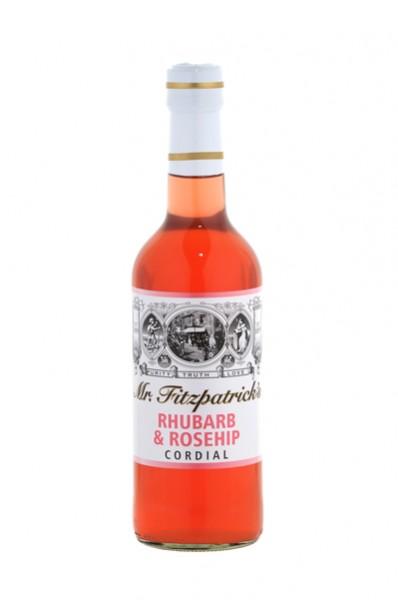 Rhubarb & Rosehip Cordial