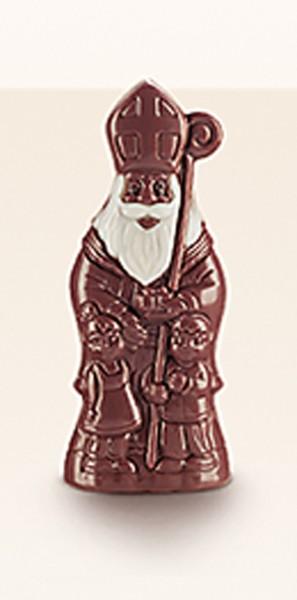 Bio-Vollmilch-Nikolaus mit Kindern 10 cm, 25 g