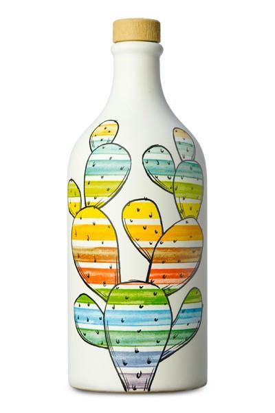 Terracotta Peranzana-Cactus/Kaktus gestreift