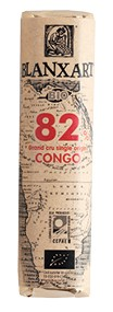 Chocolate ecológico negro Grand Cru single origin Congo 82% Riegel