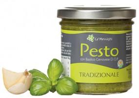 Pesto con Basilico Genovese D.O.P. Tradizionale