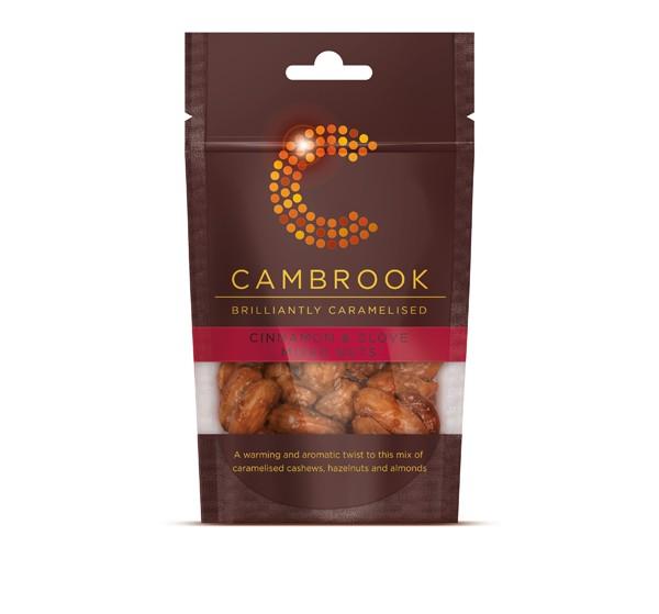 Caramelised Cinnamon & Clove Mixed Nuts