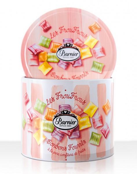 Les Froufrous Bonbons fourrés à la pure confiture de fruits - Geschenkdose