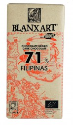 Chocolate ecológico negro 71% Filipinas