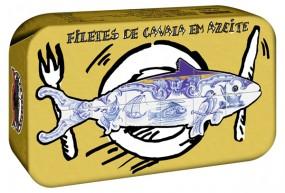 Filetes de Cavala em Azeite