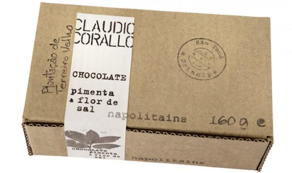 Chocolate pimenta & flor de sal - Napoltains 70%