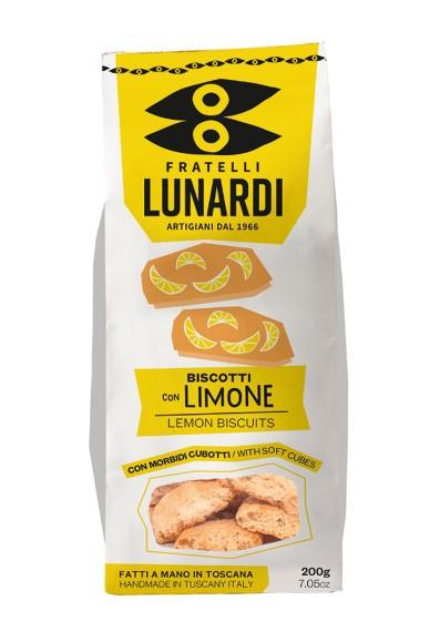 Cantuccio con limone e polpa di lime