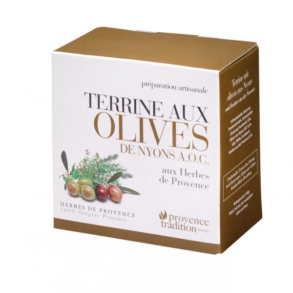 Terrine aux Olives des Nyons A.O.C. aux Herbes de Provence