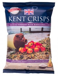 Kent Crisps Sea Salt & Vinegar with Biddenden Cider