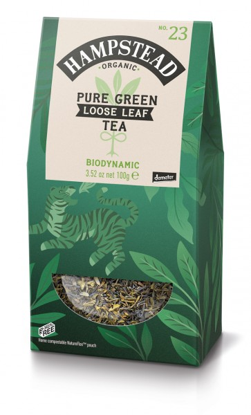 Organic Pure Green Loose Leaf Tea