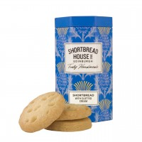 Octagonal Tins Shortbread Biscuits with clotted cream