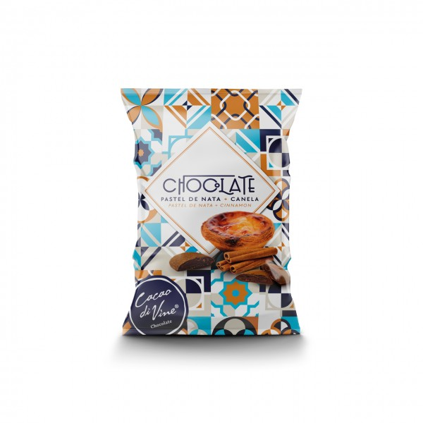 Chocolate Pastel de Nata + Canela