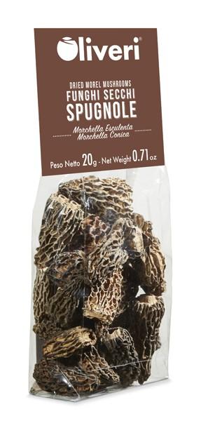 Funghi secchi Spugnole