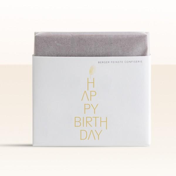 """Schokoladentafel """"Happy Birthday"""""""