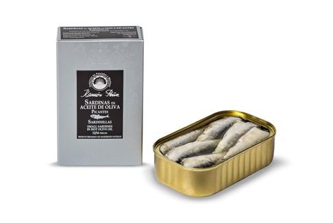 Sardinas en aceite de oliva picantes Sardinillas 12/16