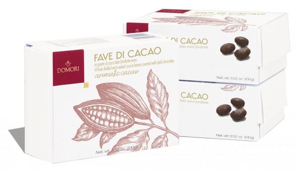 Fave di cacao ricoperto di cioccolato