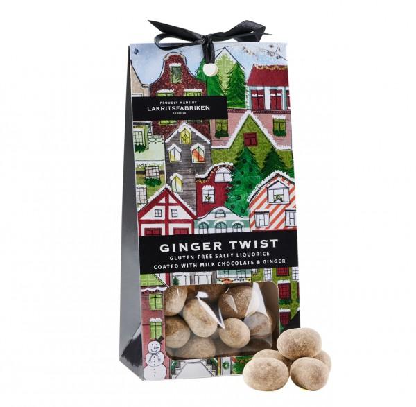 Christmas Dragée Ginger Twist