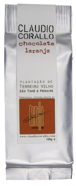 Chocolate laranja 70%